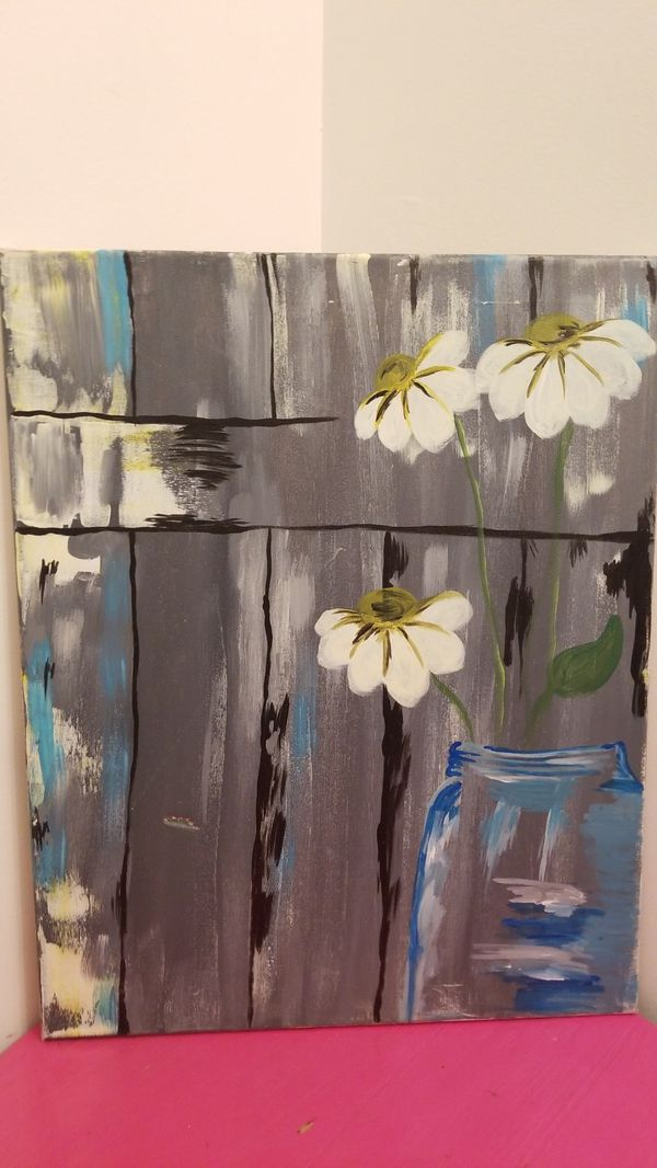 Acrylic Paintings - 16 x 20 canvas
