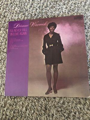 1970 Dionne Warwick vinyl album no scratches no warp for Sale in Dutton, MI
