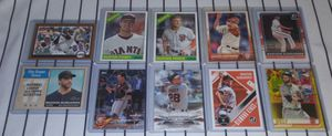 Topps San Francisco Giants Baseball Cards for Sale in Joliet, IL