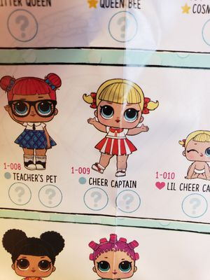 Lol series 1 cheer captain doll for Sale in Franklin Park, IL