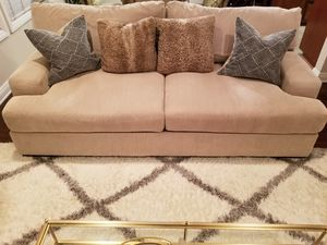 Ashely Furniture Beige Couch for Sale in West Hollywood, CA