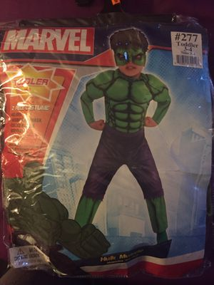 Incredible Hulk costume for Sale in Los Angeles, CA