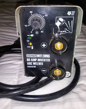 80 AMP INVERTER ARC WELDER for Sale in Denton, TX
