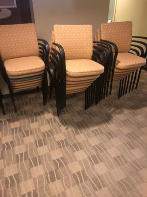 Conference chairs only $25 each for Sale in Avon, MA