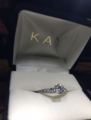 Kay Jewelers 1 ct diamond white gold Engagement wedding Ring for Sale in Silver Spring, MD