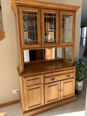 Bay Furniture Co Buffet and Hutch for Sale in Minooka, IL