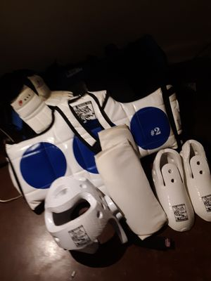 Taekwondo protection gear accessories for Sale in Benbrook, TX