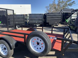 6.5x10x1 UTILITY TRAILER RZR for Sale in Victorville, CA