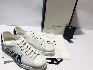 GUCCI Men's Loved Edition Leather Sneakers SIZE 9 (Regular Price $790) for Sale in Miami, FL