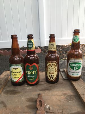 Antique beer bottles for Sale in Lynn, MA