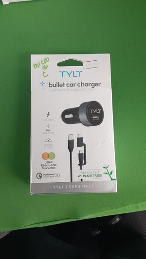 Tylt Bullet Car Charger for Sale in San Angelo, TX