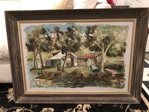Gorgeous Maggie Hartnett oil painting in Grumbacher frame for Sale in Destin, FL