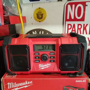 Milwaukee M18 18-Volt Lithium-Ion Cordless Jobsite Radio (Tool Only!!) for Sale in Upland, CA