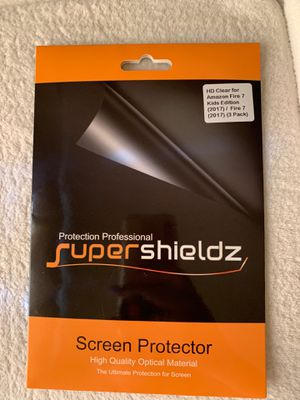 Screen Protector Amazon Fire 7 Kids Tablet for Sale in Las Vegas, NV