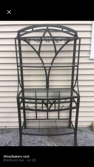 Wine / Baker's Rack for Sale in Hawthorne, NY