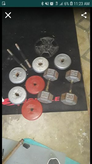Just the dumbells for Sale in Clearwater, FL