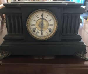 1890 French Ingram Wood Mantel clock for Sale in Rodeo, CA