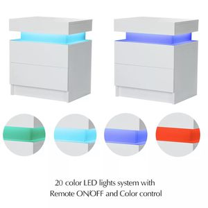 New black led nightstand , can change to any color using remote for Sale in Edgewood, FL