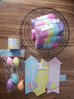 Easter Wreath Kit for Sale in Lawrence,  MA