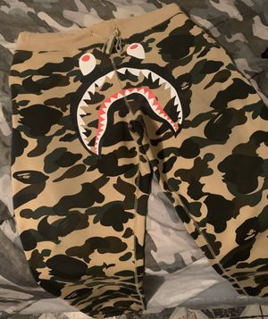 Bape windstopper sweatpants for Sale in Brooklyn, NY