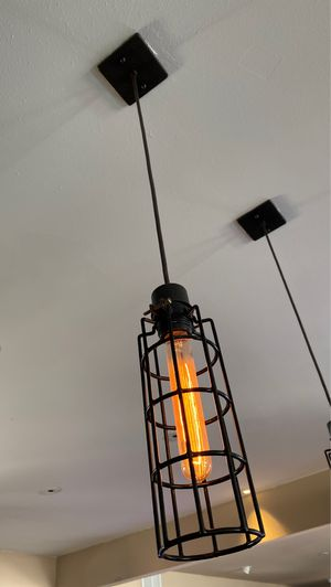 Pendant light hanging fixture set and chandelier for Sale in Chula Vista, CA