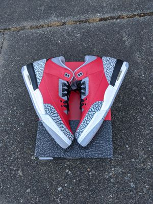 Jordan 3 retro SE fire red size 6.5y or 6.5 mens for Sale in Issaquah, WA