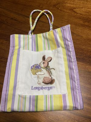 Longaberger Easter Tote for Sale in New Stanton, PA