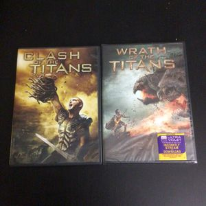Clash of the Titans (Used) & Wrath of the Titans (New) DVD Movies for Sale in Phoenix, AZ