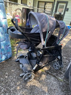 Double stroller sit stand and ride for Sale in Portland, OR