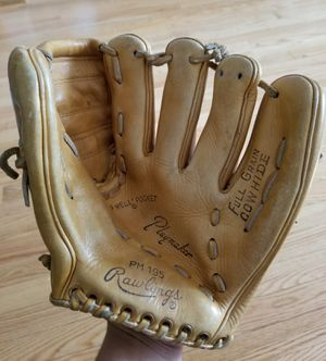 Vintage 1970s Rawlings Baseball glove for Sale in Elgin, IL