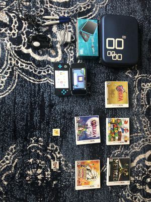Nintendo 2DS XL W/ Game Lot and Travel Case for Sale in Union, NJ