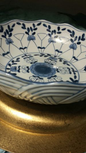 Vintage Japanese Handcrafted Bowl for Sale in Fairfax, VA