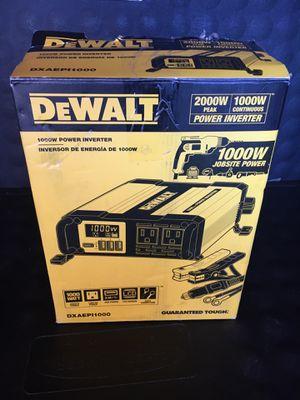 DEWALT 1000-Watt Power Inverter for Sale in Redlands, CA
