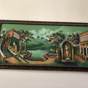 Antique painting With lights for Sale in South Brunswick Township, NJ