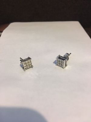 1/2K Diamond Ear Rings for Sale in Upland, CA
