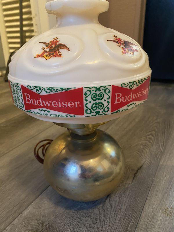 Vintage Budweiser Wall Lamp (working)