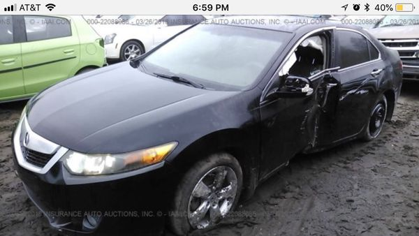 09 Acura TSX for parts
