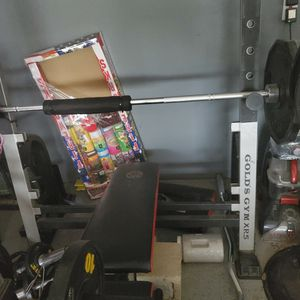 Weight Bench And Weights for Sale in Ramona, CA