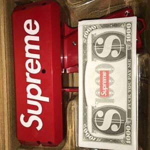 Supreme Ca$Hcannon Money Gun     for Sale in Tampa, FL