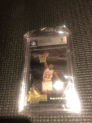Michael Jordan Basketball Card 🔥 for Sale in Manvel, TX