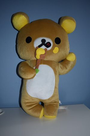 Rilakkuma big plushy 53cm for Sale in Edison, NJ