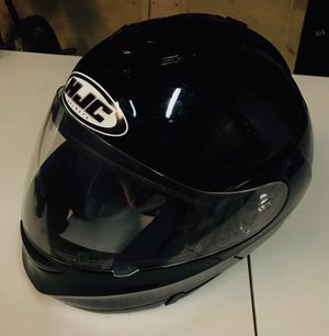 HJC Motorcycle Helmet Black Size Large for Sale in Livermore, CA