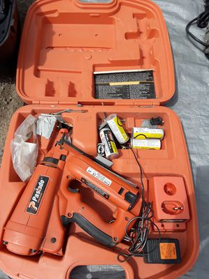 Paslode impulse ,cordless gas nail gun, for Sale in Tracy, CA