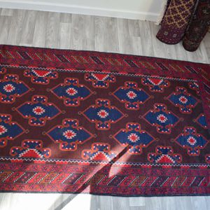 3.7x6.5 Hand knotted oriental rug for Sale in Canby, OR
