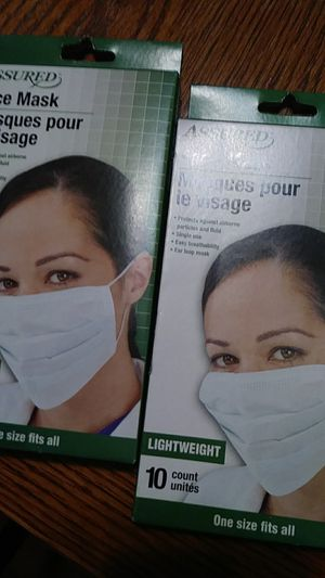 Protective face mask for Sale in Chino, CA