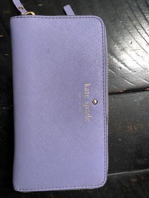 Kate Spade Lavender Wallet for Sale in Kensington, MD