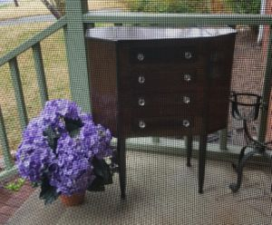 Antique Martha Washington Sewing Cabinet for Sale in Cary, NC