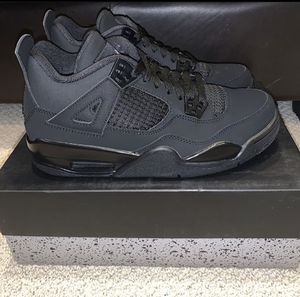 "*Girl Size* Jordan 4 Retro ""Blackcat"" Size 6 Gs for Sale in Chicago, IL"