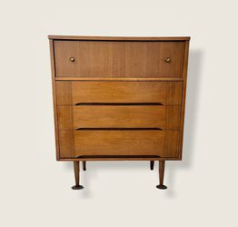 Vintage Mid Century Modern Dresser Cabinet Storage Drawers Seattle for Sale in Seattle,  WA