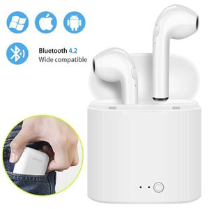i7s TWS Mini Wireless Bluetooth Earphone Stereo Earbud Headset With Charging Box Mic For Iphone Xiaomi All Smart Phone air pods for Sale in Cabin John, MD